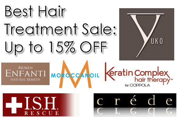 Best Hair Treatment Sale: Up to 15% OFF
