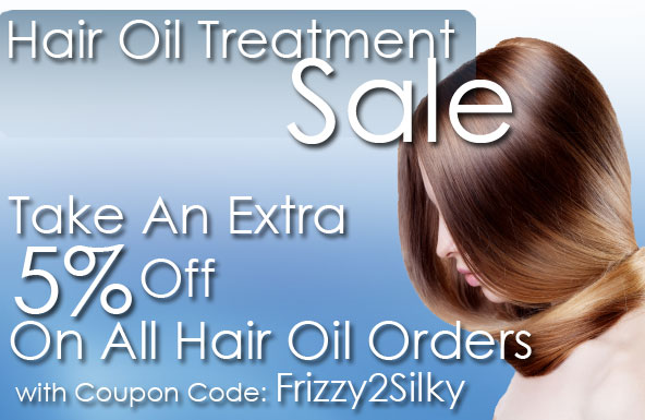 Hair Oil Treatment Sale: Take An Extra 5% Off On All Hair Oil Orders