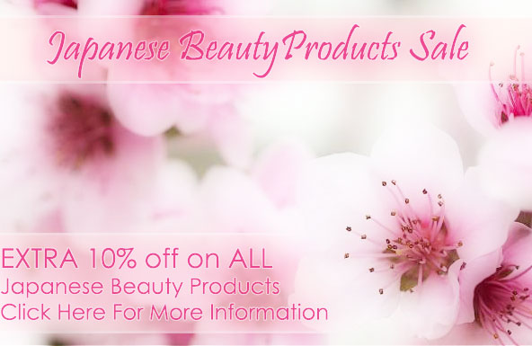 Japanese Beauty Product Sale: 10% Off Of Any Japanese Beauty Product Order