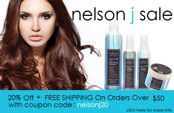 Nelson J Sale: Get 20% Off + Free Shipping On Orders Over $50