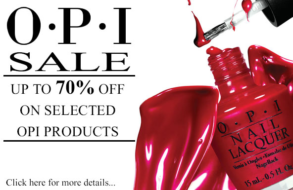 OPI Sale: Up to 70% off on selected OPI products