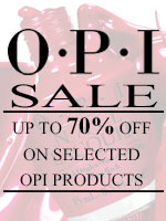 OPI Sale: Up to 70% off on selected OPI product