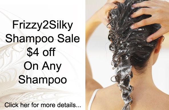 Frizzy2Silky Shampoo Sale: $4 off On Any Shampoo