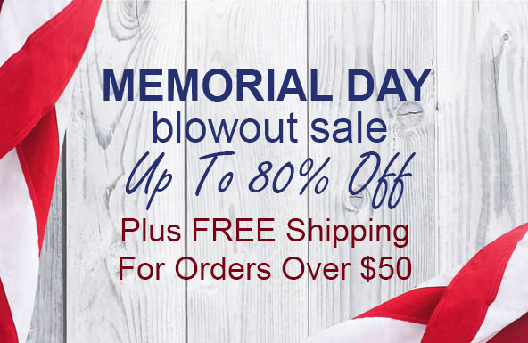 Memorial Day Clearance Blowout: Up To 80% Off